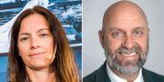Länsförsäkringars investeringschef Anna Öster och Swedbanks seniora rådgivare Olof Manner  Magnus Hjalmarson Neideman/SvD/TT och Swedbank