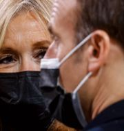 Emmanuel Macron Ludovic Marin / TT NYHETSBYRÅN