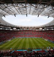 Puskas-stadion i Budapest. LASZLO BALOGH / BILDBYRÅN