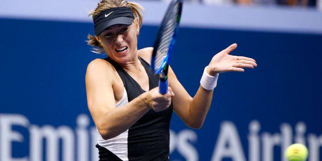 Maria Sjarapova under US Open i september.  Jason DeCrow / TT NYHETSBYRÅN/ NTB Scanpix