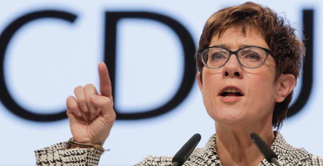 Kristdemokraternas (CDU) nya partiledare Annegret Kramp-Karrenbauer. Markus Schreiber / TT NYHETSBYRÅN/ NTB Scanpix