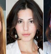 Isobel Hadley-Kamptz, Paulina Neuding och Caroline Szyber. TT