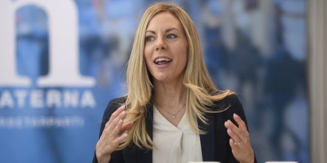 Jessica Rosencrantz (M) miljö- och klimatpolitisk talesperson Fredrik Sandberg/TT / TT NYHETSBYRÅN