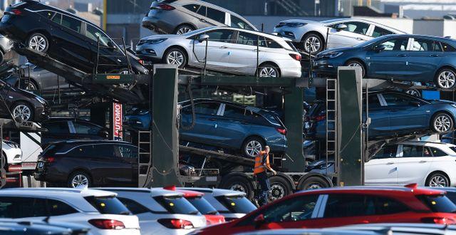 Arkivbild: Nya Opelbilar PAUL ELLIS / AFP