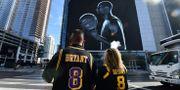 Fans i Los Angeles idag. FREDERIC J. BROWN / AFP