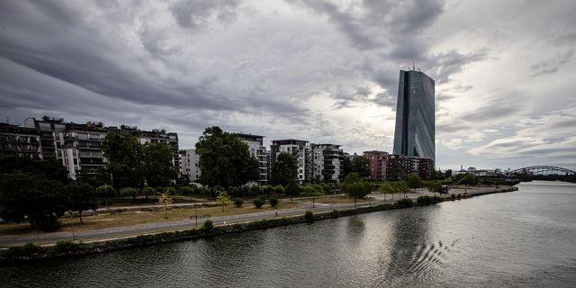 Illustrationsbild, ECB i Frankfurt. TT.