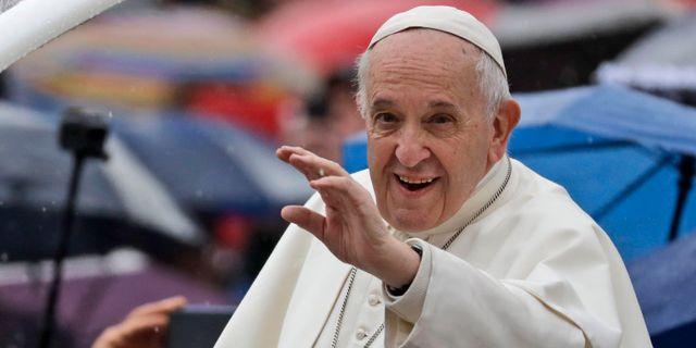 Påven. Andrew Medichini / TT NYHETSBYRÅN/ NTB Scanpix