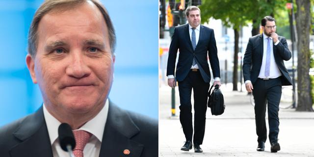 Stefan Löfven och Jimmie Åkesson TT
