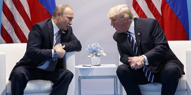 Ryske presidenten Vladimir Putin mötte Donald Trump under G20-mötet i Hamburg. TT