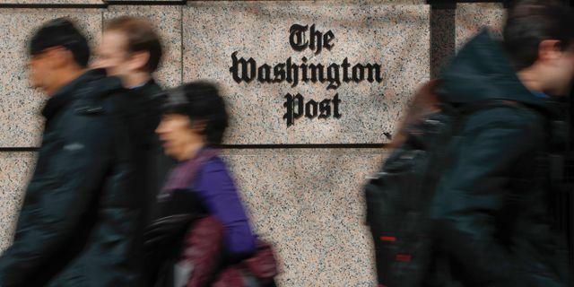 Washington Post. Pablo Martinez Monsivais / TT NYHETSBYRÅN