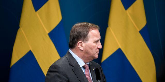Stefan Löfven. Pontus Lundahl/TT / TT NYHETSBYRÅN