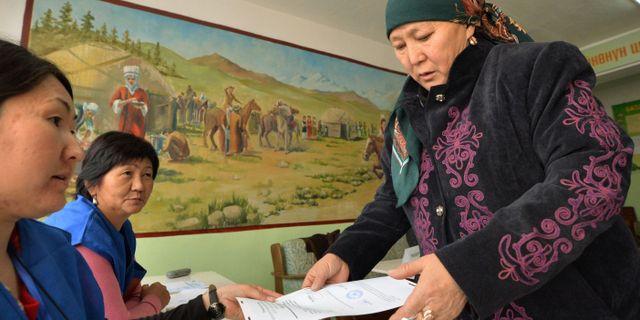 Kirgizistans president till sverige