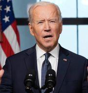 USA:s president Joe Biden och Rysslands president Vladimir Putin  Alexei Druzhinin/AP/TT och Andrew Harnik/AP/TT