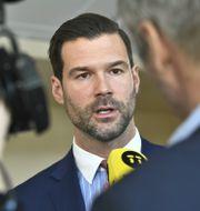 Johan Forsell (M). Claudio Bresciani/TT / TT NYHETSBYRÅN