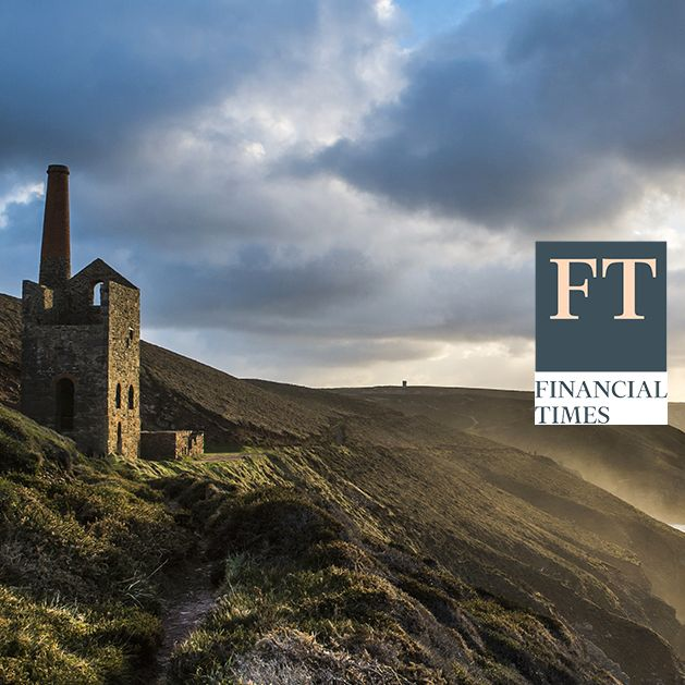 Wheal Coates Tin mines at sunset on Cornwalls North coast, UK Shutterstock