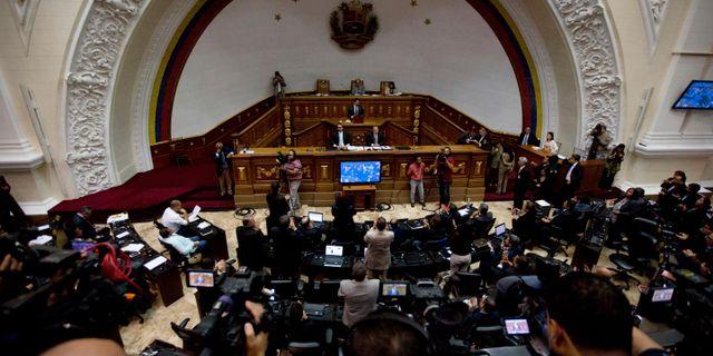 Venezuelas kongress. Fernando Llano / TT / NTB Scanpix