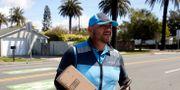 Joseph Alvarado levererar i Kalifornien.  ALEX GALLARDO / TT NYHETSBYRÅN