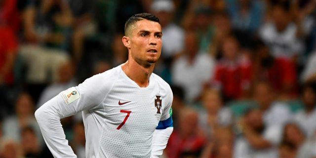 Cristiano Ronaldo. JONATHAN NACKSTRAND / AFP