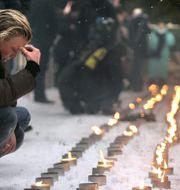 Minnesceremoni i Stockholm 2005, ett år efter tsunamin. Anders Wiklund / TT / TT NYHETSBYRÅN