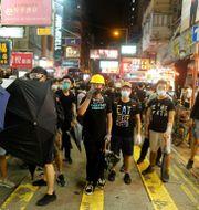 Demokratidemonstrationer i Hongkong 2019. THOMAS PETER / TT NYHETSBYRÅN