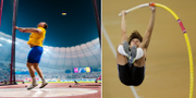 Två av Sveriges största OS-hopp: Armand Duplantis och Daniel Ståhl. Bildbyrån