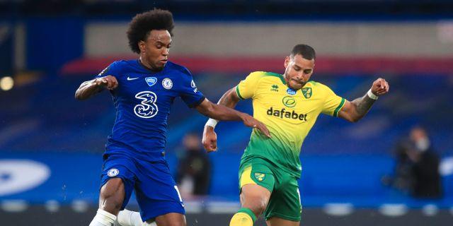 Match mellan Chelsea och Norwich City. Arkivbild. Adam Davy / TT NYHETSBYRÅN