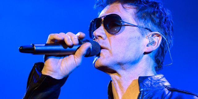 A-has sångare Morten Harket. Walter Bieri / TT NYHETSBYRÅN