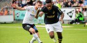 AIK:s Heradi Rashidi och Örebros Filip Rogic. JOHAN BERNSTRÖM / BILDBYRÅN