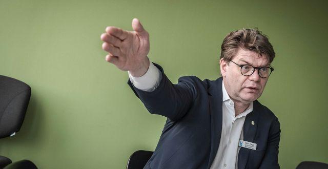 Arkivbild: Karolinskas sjukhusdirektör Björn Zoëga. Lisa Arfwidson/SvD/TT / TT NYHETSBYRÅN
