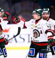 Frölundas Christoffer Ehn och Nicklas Lasu JESPER ZERMAN / BILDBYRÅN