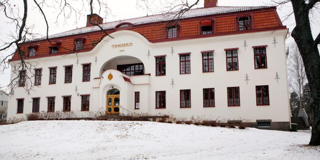 Tingsrätten i Hudiksvall. Mats Andersson/TT / TT NYHETSBYRÅN