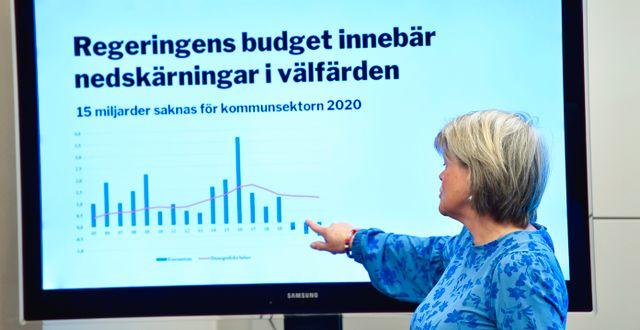 Ulla Andersson. Henrik Montgomery/TT / TT NYHETSBYRÅN
