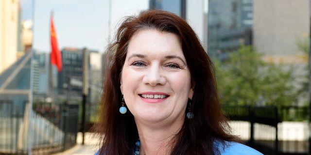 Nya utrikesministern Ann Linde (S). Arkivbild. Maja Suslin/TT / TT NYHETSBYRÅN
