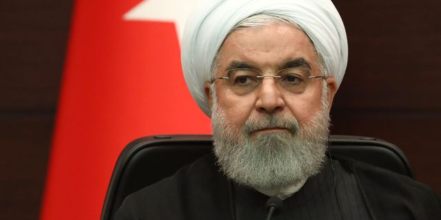 Irans president Hassan Rouhani, arkivbild. ADEM ALTAN / AFP