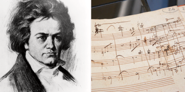 Ludvig van Beethoven/Kompositörens noter. TT