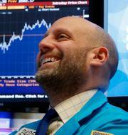 Illustrationsbild: Börsmäklare på Wall Street. Richard Drew / TT NYHETSBYRÅN