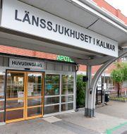 Länssjukhuset i Kalmar. Mikael Fritzon/TT / TT NYHETSBYRÅN