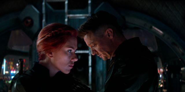 """Scarlett Johansson och Jeremy Renner i """"Avengers: Endgame"""" null / TT NYHETSBYRÅN"""