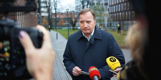 Stefan Löfven. Adam Ihse/TT / TT NYHETSBYRÅN
