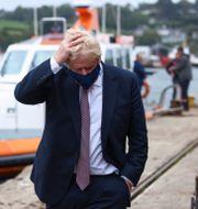 Boris Johnson inför G7-mötet i Cornwall Tom Nicholson / TT NYHETSBYRÅN