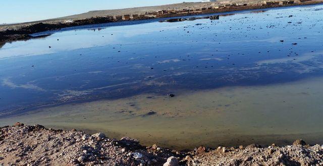 Greenpeace bilder på avfallsdammar i Anelo.  Greenpeace ANDINO - Chile, Argen