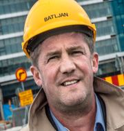 SBB:s storägare Ilija Batljan och Jonas Björkman, vd för Tessin Nordic. TT & pressfoto