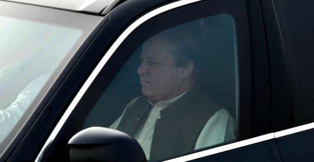 Pakistans förre premiärminister Nawaz Sharif. Anjum Naveed / TT / NTB Scanpix