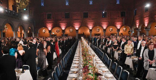 Nobelfesten 2018. Fredrik Sandberg/TT / TT NYHETSBYRÅN