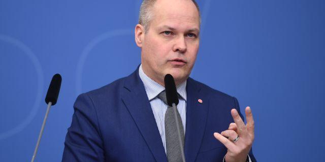 Morgan Johansson. Fredrik Sandberg/TT / TT NYHETSBYRÅN