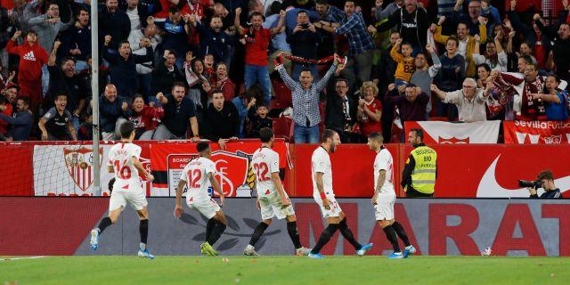Illustrationsbild från match Sevilla-Atletico Madrid MARCELO DEL POZO / BILDBYRÅN