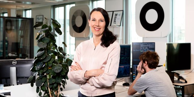 Annika Winsth, chefsekonom.  Magnus Sandberg