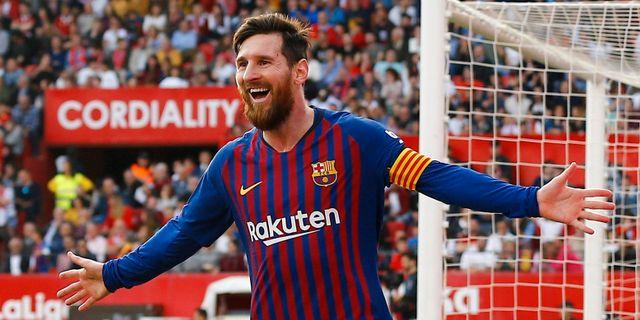 Messi.  MARCELO DEL POZO / BILDBYRÅN