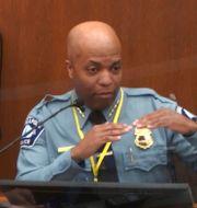 Polischef Medaria Arradondo. TT NYHETSBYRÅN