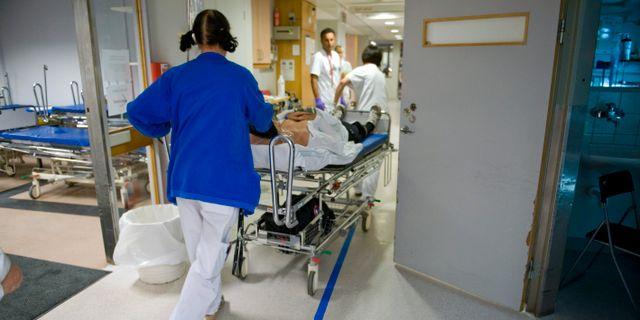 Personal på Danderyds sjukhus. Arkivbild. Bertil Ericson / TT / TT NYHETSBYRÅN